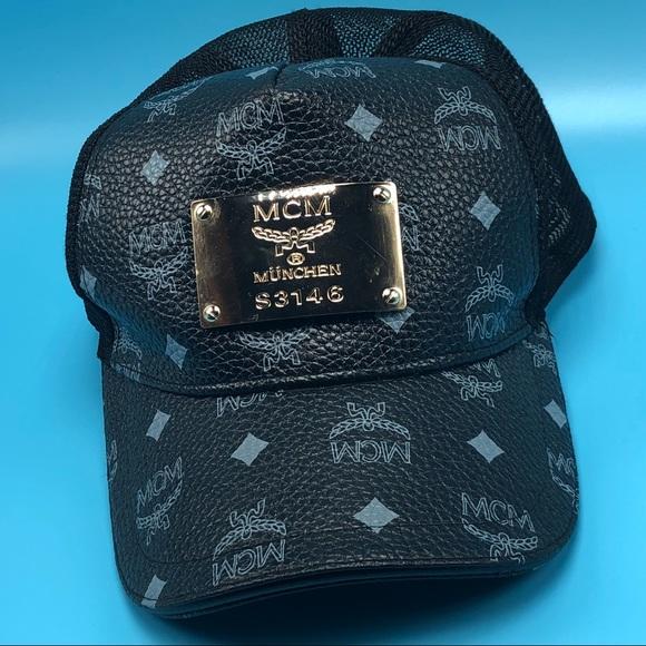 07e3e059101d7 MCM Munchen S3146 Coogi black hat cap SnapBack